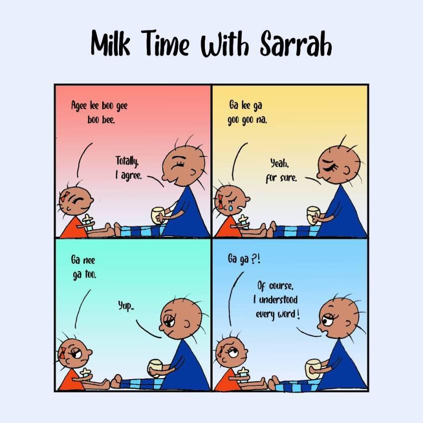 Milk Time With Sarrah